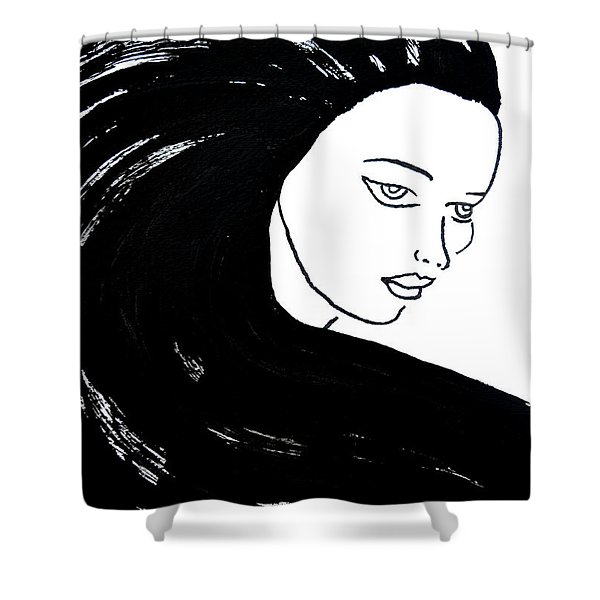 Majestic Lady J0715a Shower Curtain