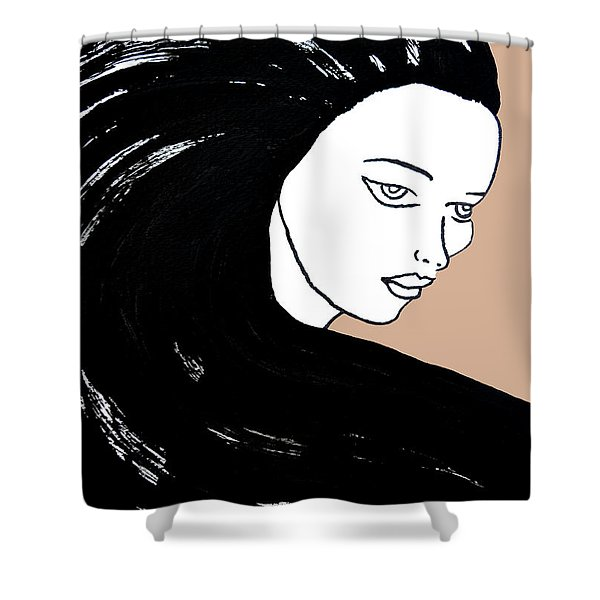 Majestic Lady J0715b Shower Curtain