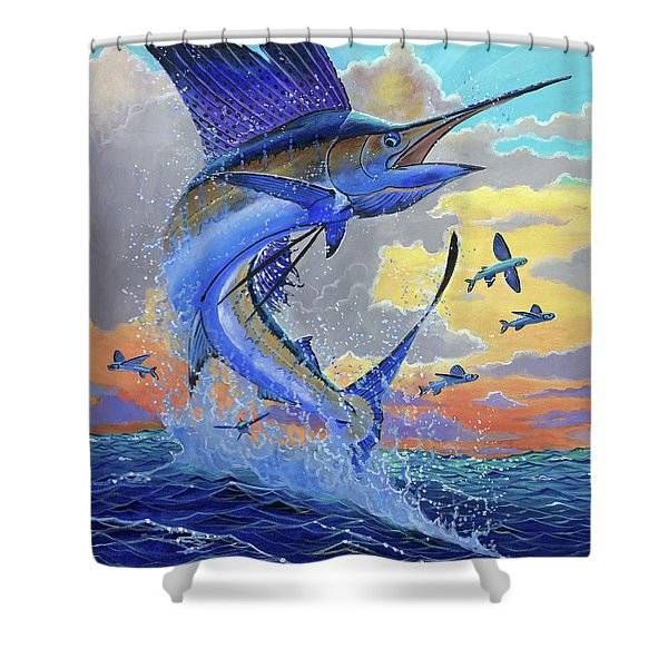 Majestic Sail Off00159 Shower Curtain