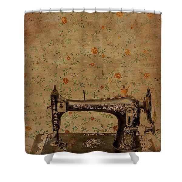 Make It Sew Shower Curtain
