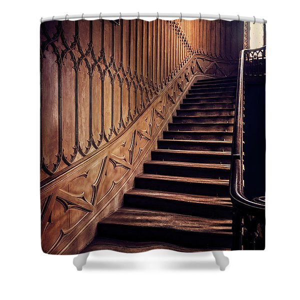 Make It To The Top Shower Curtain