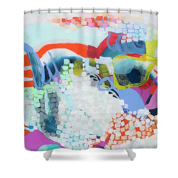 Make Some Noise Shower Curtain