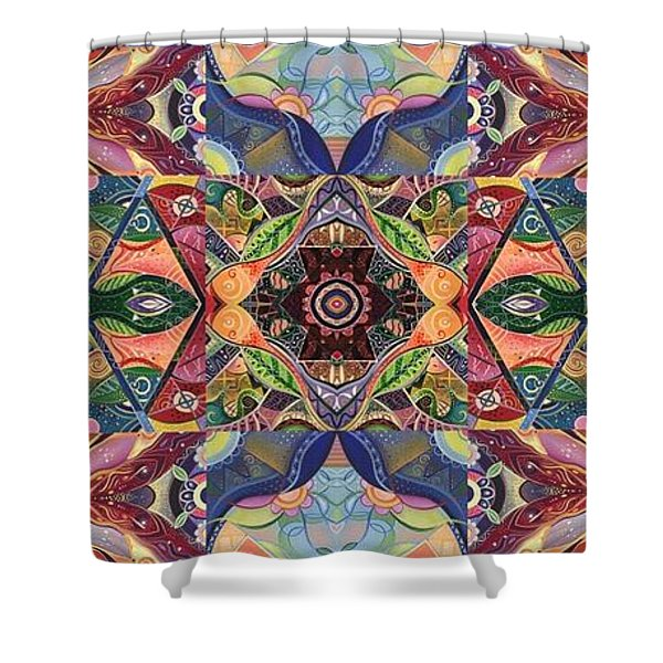 Making Magic - A  T J O D  Arrangement Shower Curtain