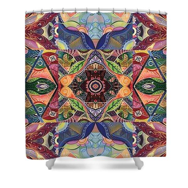 Making Magic - A  T J O D  Arrangement Shower Curtain