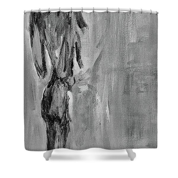 Male Nude 3 Shower Curtain