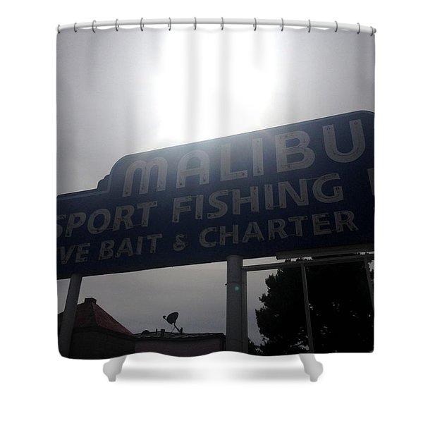 Malibu Sport Fishing  Shower Curtain