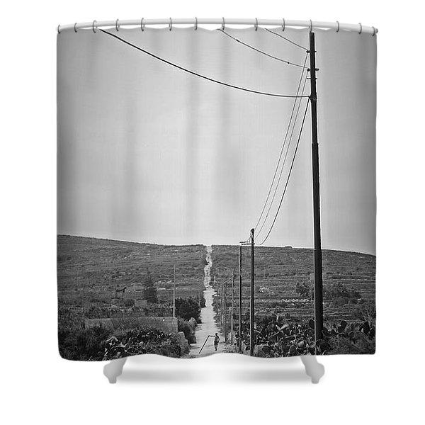 Malta Shower Curtain