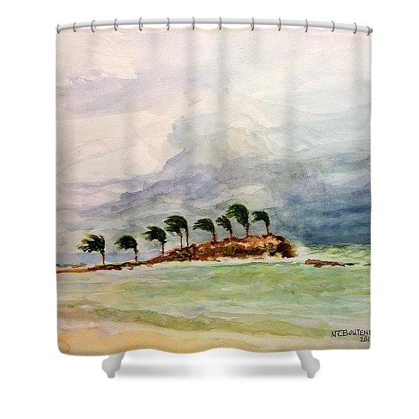 Malya Jamaica Shower Curtain