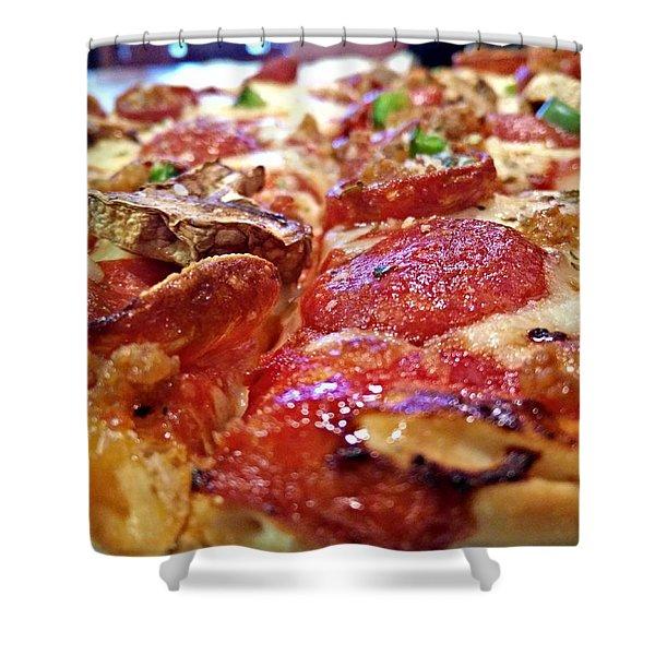 Mama Lido's Pizza Shower Curtain