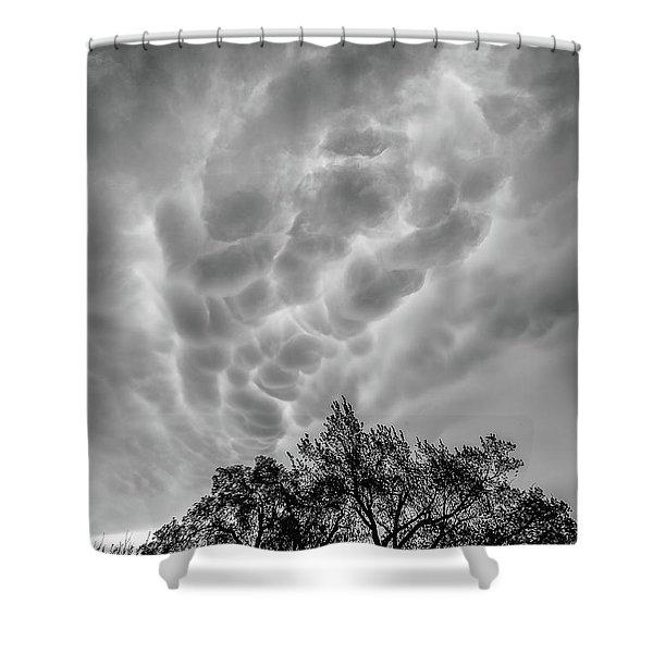 Mammatus Dance Shower Curtain