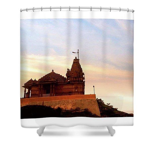 Manbhavan Tekri Shower Curtain