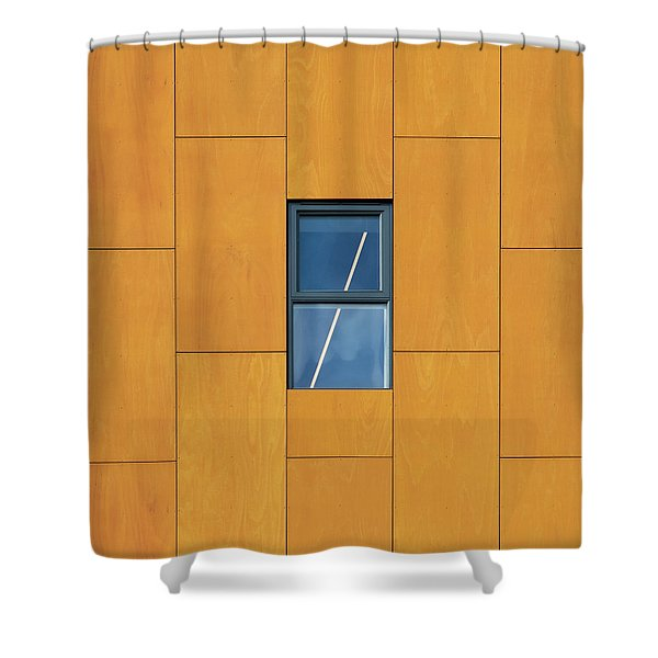 Manchester Windows 2 Shower Curtain