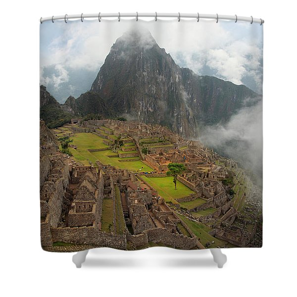 Manchu Picchu Shower Curtain