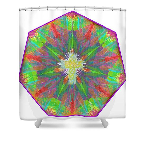 Mandala 1 1 2016 Shower Curtain