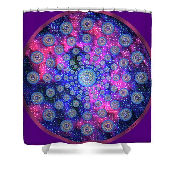 Mandala Radium 2 Shower Curtain