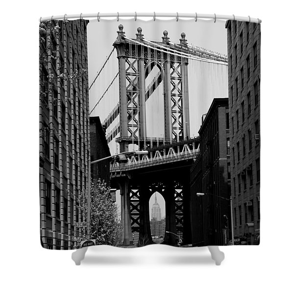 Manhattan Empire Shower Curtain