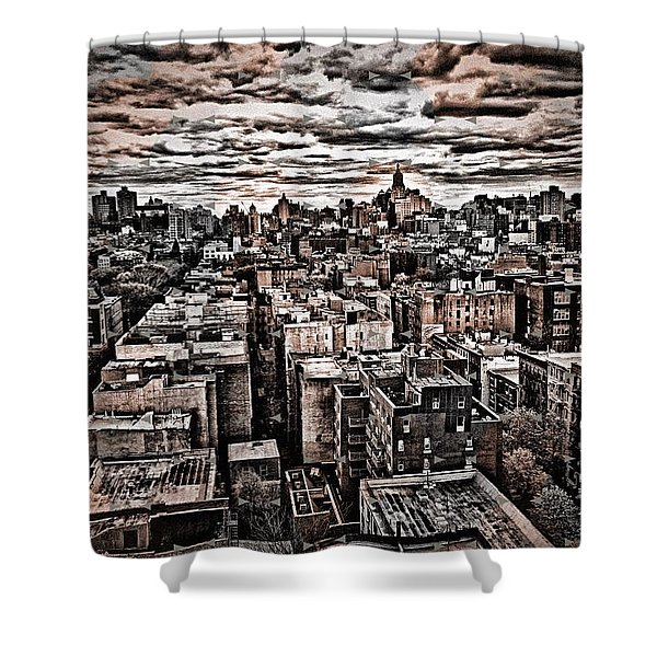 Manhattan Landscape Shower Curtain