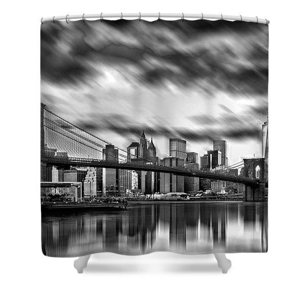 Manhattan Moods Shower Curtain