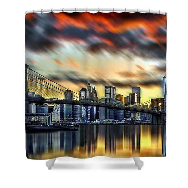 Manhattan Passion Shower Curtain