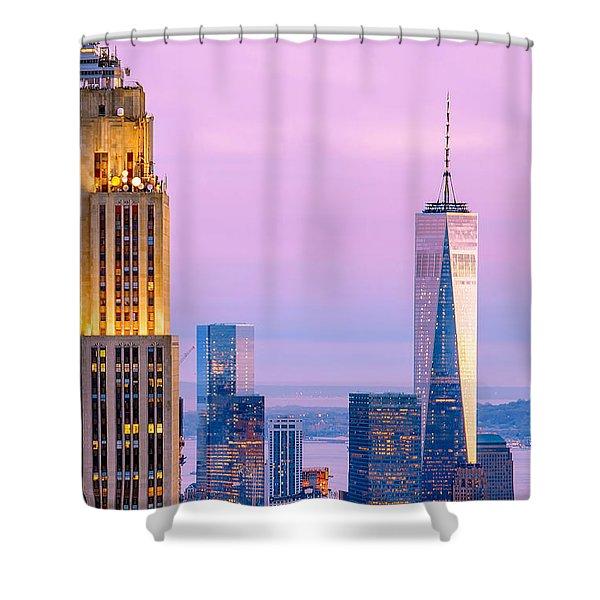 Manhattan Romance Shower Curtain