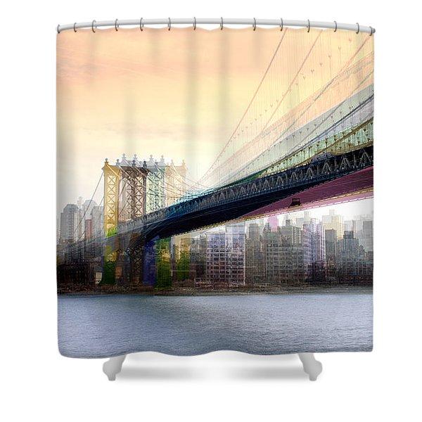 Manhattan X3 Shower Curtain