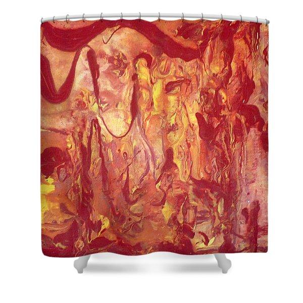 Manifestation Shower Curtain