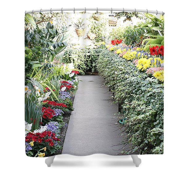 Manito Park Conservatory Shower Curtain
