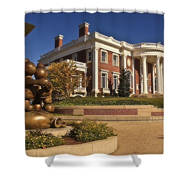 Mansion Hunter Museum Shower Curtain