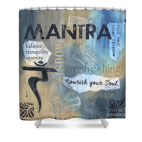 Mantra Shower Curtain