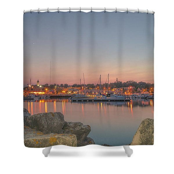 Many Lights Shower Curtain