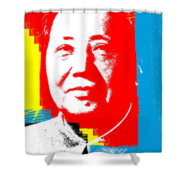 Mao 3 Shower Curtain