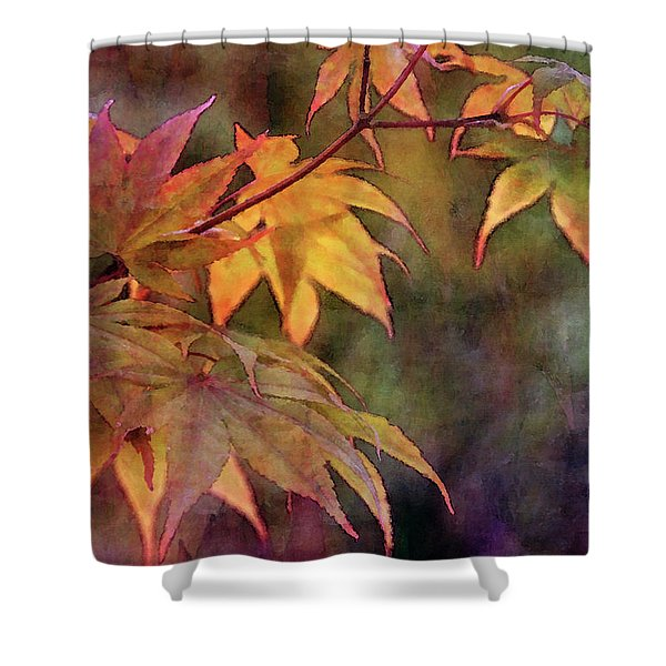 Maples Golden Glow 5582 Idp_2 Shower Curtain