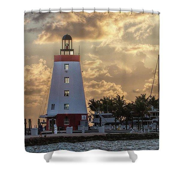 Marathon Light House Shower Curtain