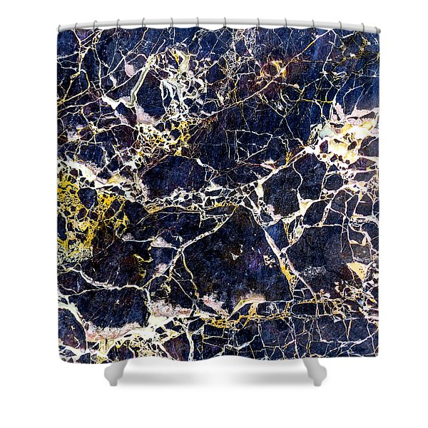 Marble Stone Texture Wall Tile Shower Curtain
