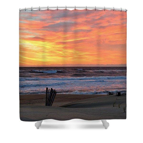 March 23 Sunrise  Shower Curtain