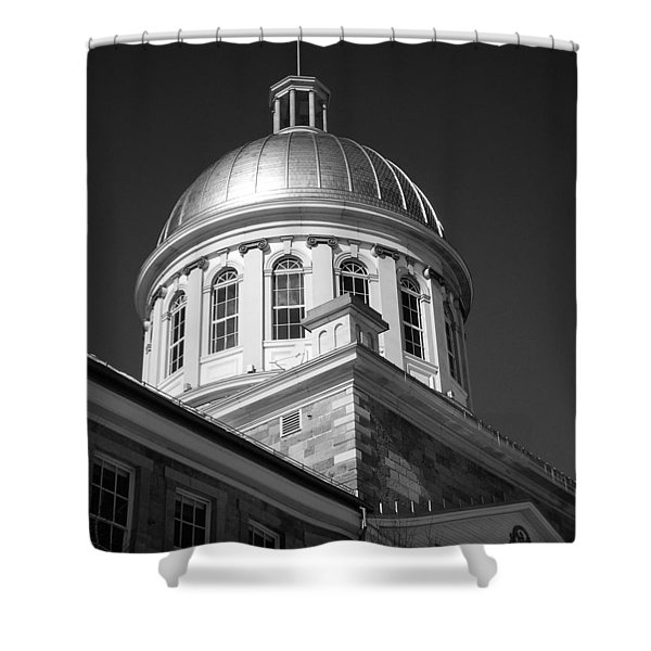 Marche Bonsecours  Shower Curtain