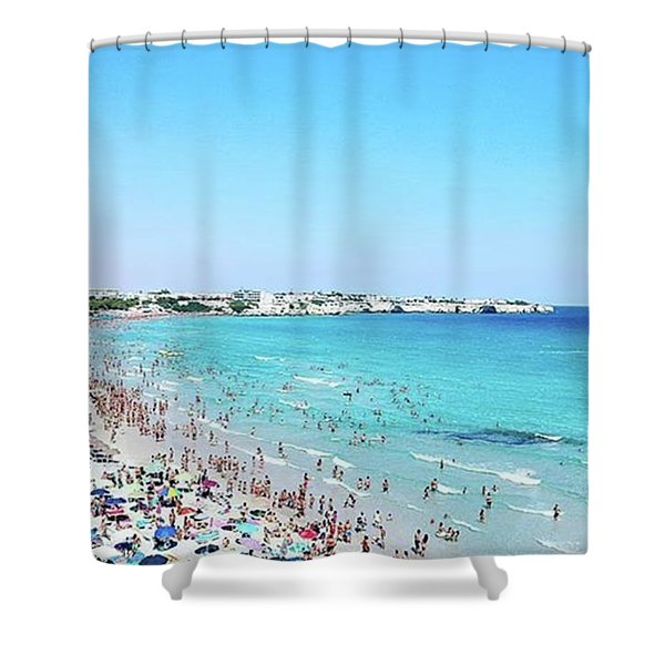 #mare #instadaily #instagood #sea Shower Curtain