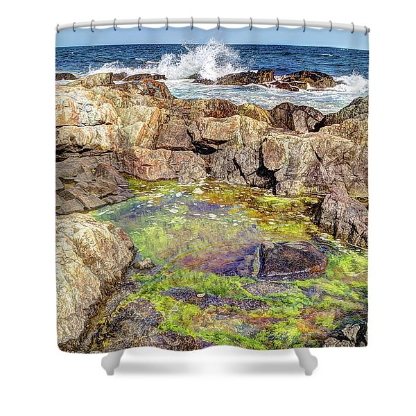 Maresias Shower Curtain