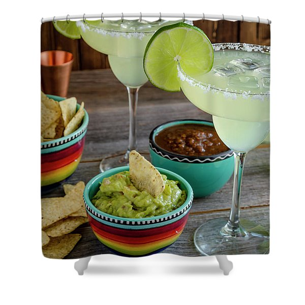 Margarita Party Shower Curtain