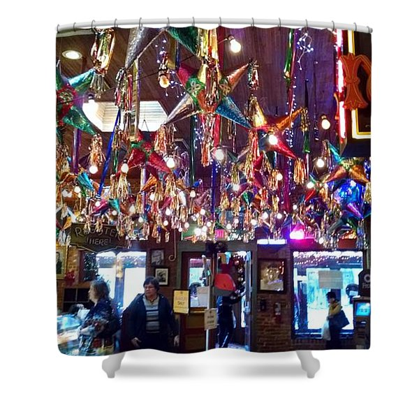 Mariachi Bar In San Antonio Shower Curtain