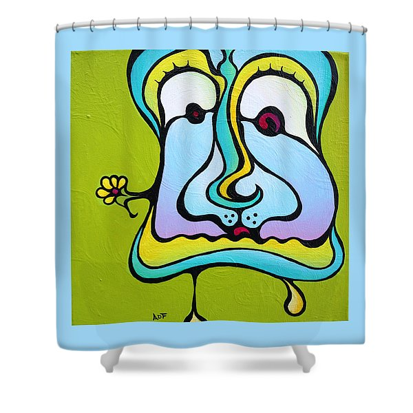 Marie Antoiletee Shower Curtain