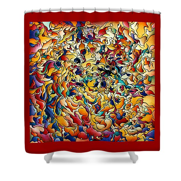 Marigold Festival Shower Curtain