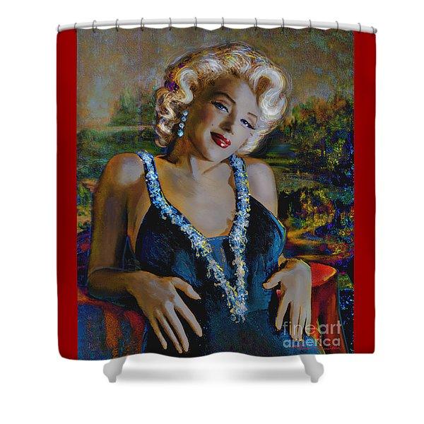 Marilyn Monroe 126 Monalisa Shower Curtain