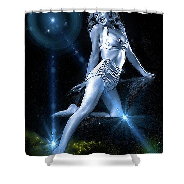 Marilyn Monroe - A Star Was Born Shower Curtain