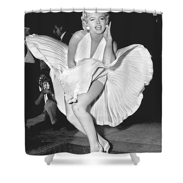 Marilyn Monroe - Seven Year Itch Shower Curtain