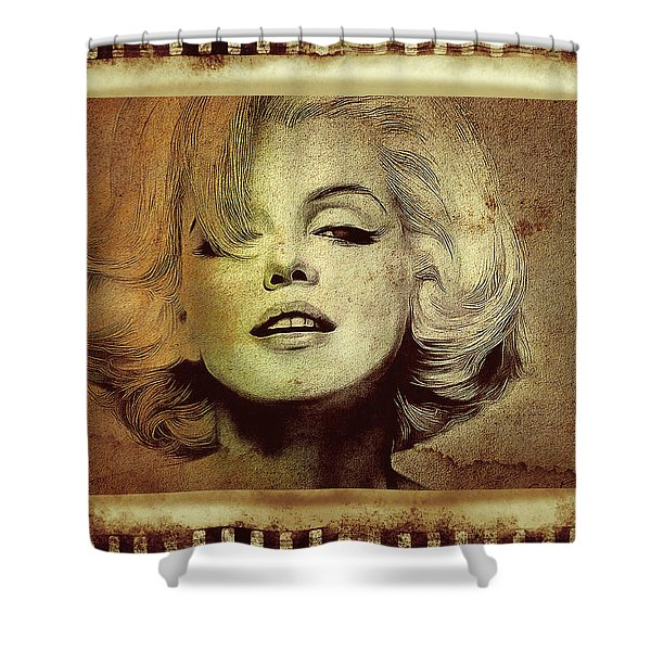 Marilyn Monroe Star Shower Curtain