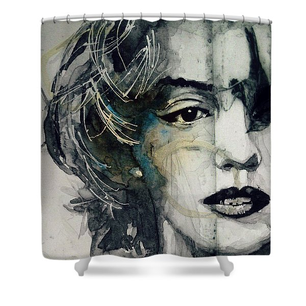 Marilyn Monroe - Wicked Games Shower Curtain