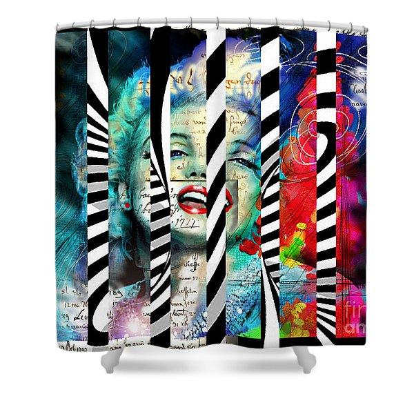 Marilyn Sis 1 Shower Curtain