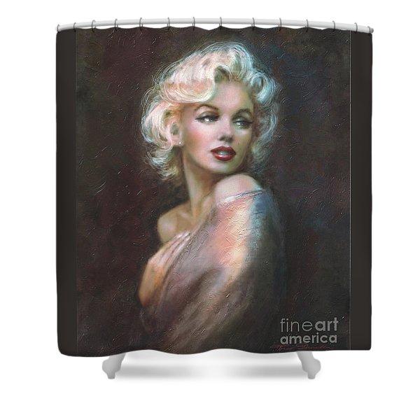 Marilyn Ww  Shower Curtain