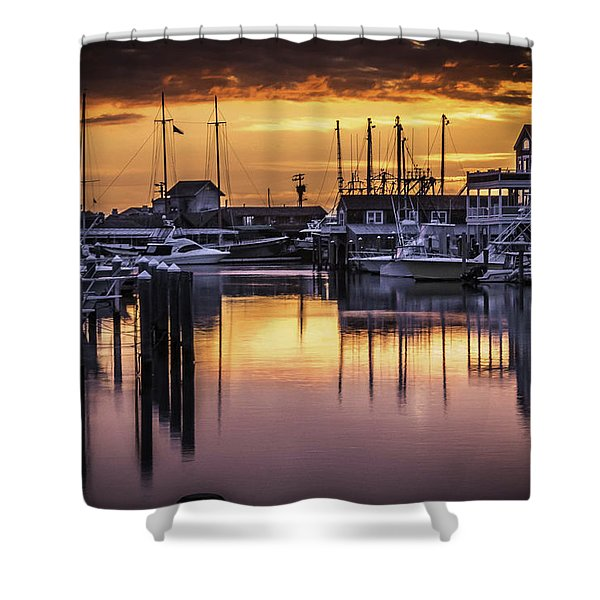 The Floating Sky Shower Curtain